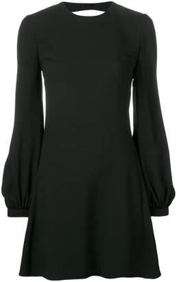 Saint Laurent short open back dress