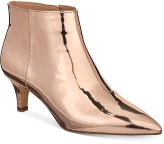 INC International Concepts I.n.c. Zennora Ankle Booties, Created for Macy's Women's Shoes