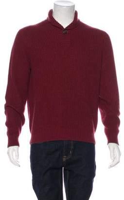 Brunello Cucinelli Cashmere Shawl Sweater