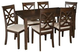 World Menagerie Duron 7 Piece Dining Set