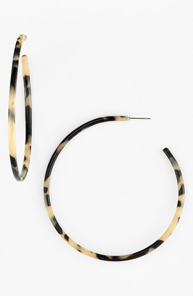 Women's L Erickson 'Jumbo' Hoop Earrings