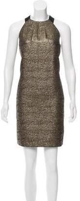 LK Bennett Metallic Sleeveless Dress w/ Tags