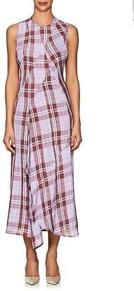 Victoria Beckham Women's Plaid Midi-Dress