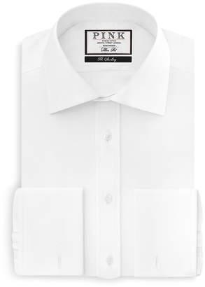 Thomas Pink Arthur Twill French Cuff Dress Shirt - Bloomingdale's Regular Fit