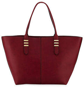 Neiman Marcus Haven Smooth Faux Tote Bag