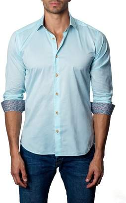 Jared Lang Woven Modern Fit Shirt