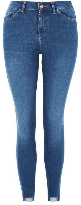 TopshopTopshop Moto step hem blue jamie jeans