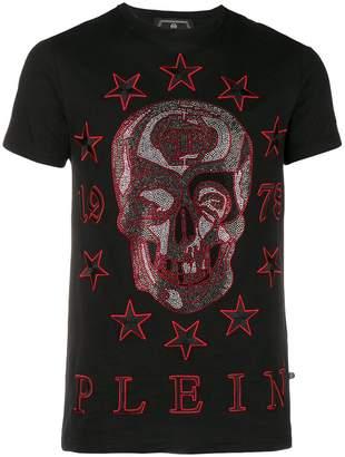Philipp Plein crystal skull T-shirt