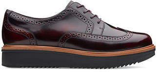 Clarks ARTISAN Teadale Maira Man Tailored Roque Lace-Up Shoe