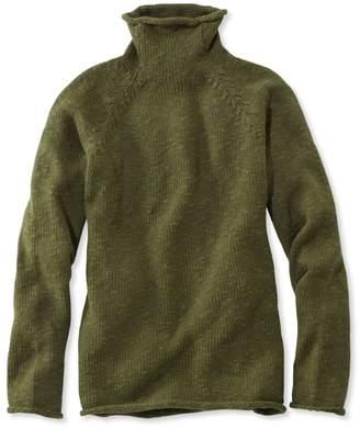 L.L. Bean L.L.Bean Women's Cottage Cotton Sweater, Funnelneck Pullover