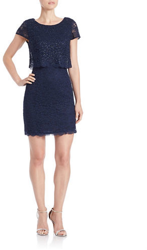 Decode 1.8 Embellished Popover Dress