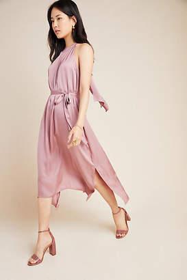 Velvet by Graham & Spencer Camilla Halter Midi Dress
