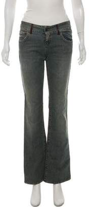 RED Valentino Mid-Rise Straight Jeans