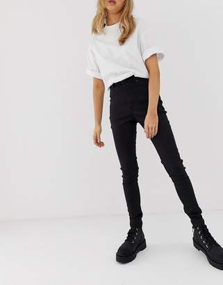 Cheap Monday cotton free high rise skinny jeans