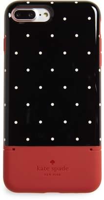 Kate Spade dot iPhone 7/8 Plus case & card holder