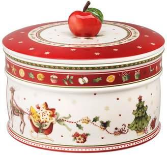 Villeroy & Boch Winter Bakery Delight Large Pastry Box (17cm)