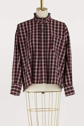 Etoile Isabel Marant Olena cotton shirt