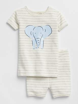 Gap Organic Elephant Short PJ Set