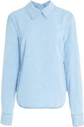 Rachel Comey Cotton-Chambray Top