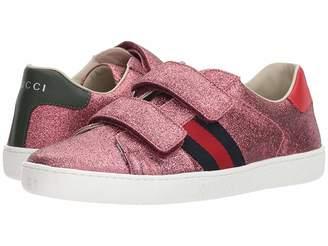 Gucci Kids New Ace V.L. Sneakers (Little Kid/Big Kid)