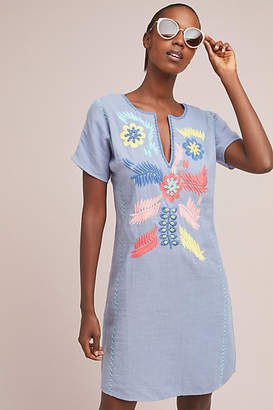Corey Lynn Calter Catori Embroidered Shift Dress