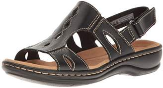 Clarks Women's Leisa Lakelyn Flat Sandal $47.99 thestylecure.com