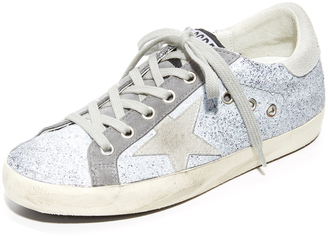 Golden Goose Superstar Sneakers $495 thestylecure.com