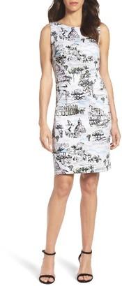 Women's Chetta B Rome Sheath Dress $88 thestylecure.com