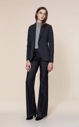 Soia & Kyo ELDA slim fit blazer with notch collar