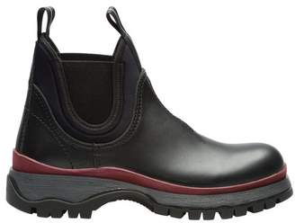 Prada Leather Booties