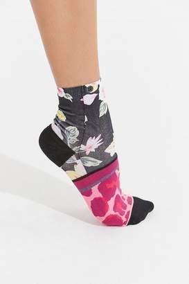 Stance Mixed Print Quarter Sock
