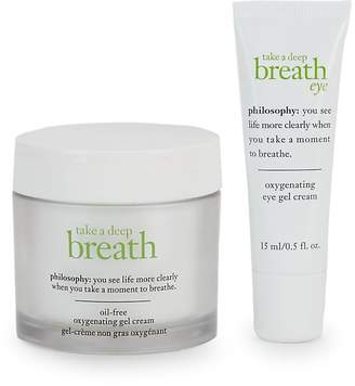 philosophy Oxygenating Face and Eye Duo