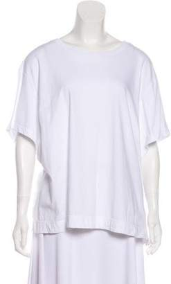 By Malene Birger Crew Neck Short Sleeve Top w/ Tags
