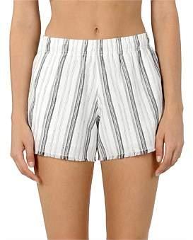 Nude Lucy Brooke Linen Stripe Short