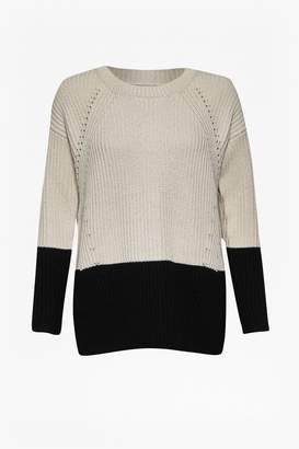 Great Plains Ginny Colour Block Jumper