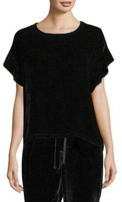 Joie The Janie Velvet Top