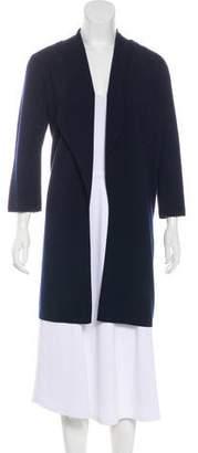 Allude Virgin Wool Open Knit Cardigan