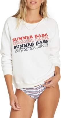 Billabong Summer Babe Graphic Sweatshirt
