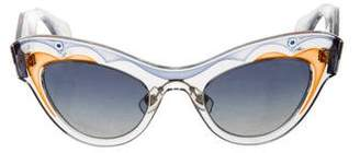 Miu Miu Dramatic Cat-Eye Sunglasses