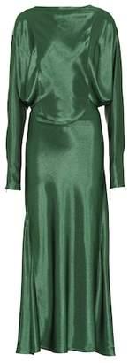 Victoria Beckham Draped midi dress