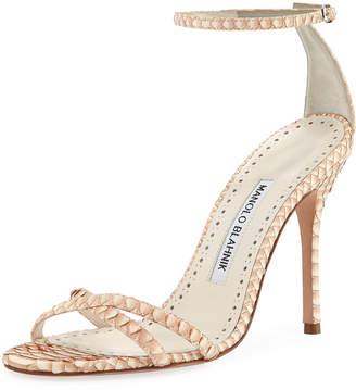 49b2bca588dc Manolo Blahnik Stiletto Heel Women s Sandals - ShopStyle