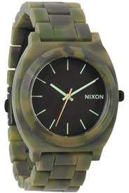 Nixon THE TIME TELLER ACETATE MATTE BLK/CAMO