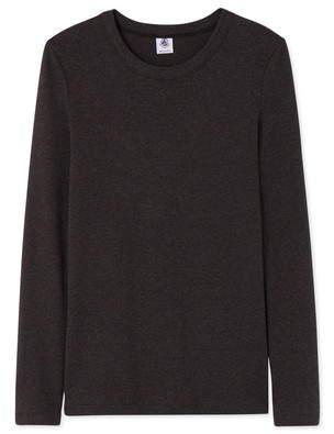 Petit Bateau (プチ バトー) - クルーネック長袖Tシャツ