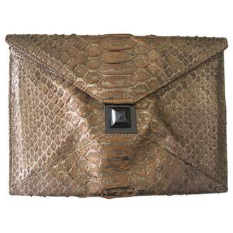 Kara Ross Exotic Leathers Clutch Bag