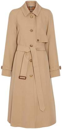 Burberry Wool Gabardine Trench Coat