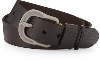 Robert Graham Braeden Leather Belt, Brown $55 thestylecure.com