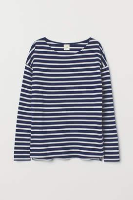 H&M Striped Top - Blue