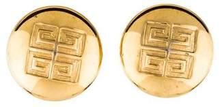 Givenchy Logo Clip-On Earrings