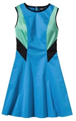 Prabal Gurung For Target® Colorblock Dress -Dresden Blue