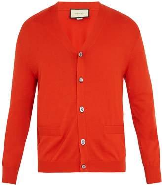 Gucci V-neck cashmere cardigan